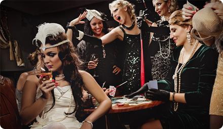 Вечеринки в стиле Гэтсби казино