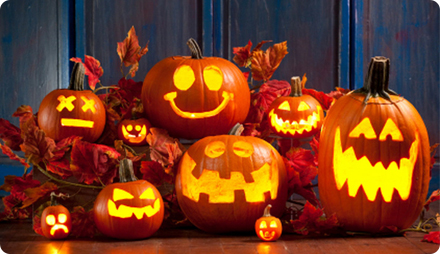 вечеринка Хеллоуин декор