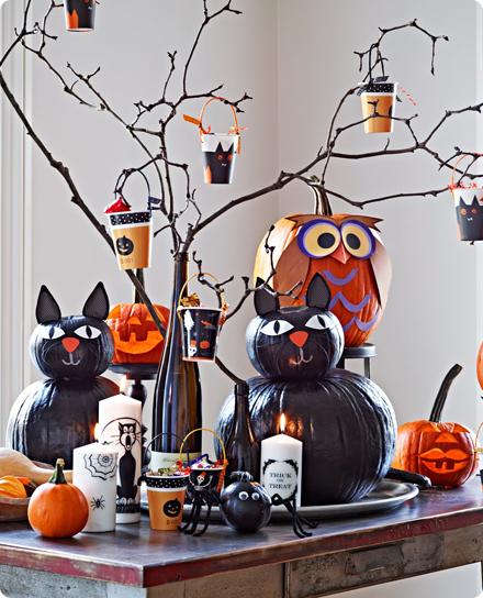 вечеринка Хеллоуин меню