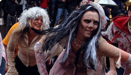 вечеринка хэллоуин костюмы