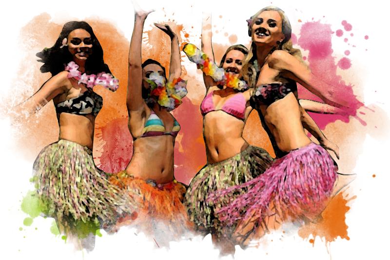 Гавайская вечеринка организация