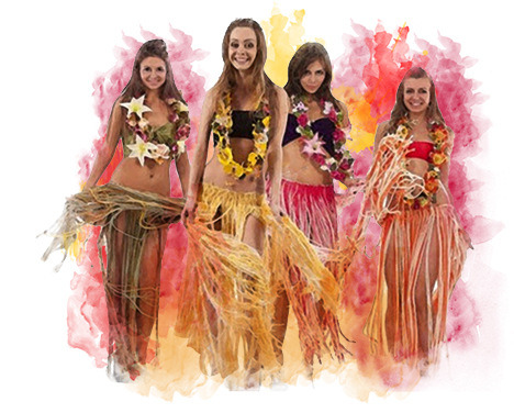 Гавайская вечеринка образ костюмы что надеть