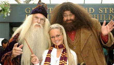 Вечеринка в стиле Гарри Поттер костюмы