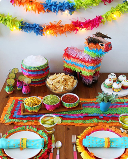 Мексиканская вечеринка декор