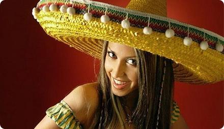 Мексиканская вечеринка одежда для девушки
