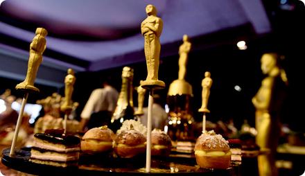 Вечеринка в стиле Оскар меню