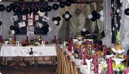 Пиратская вечеринка помещение