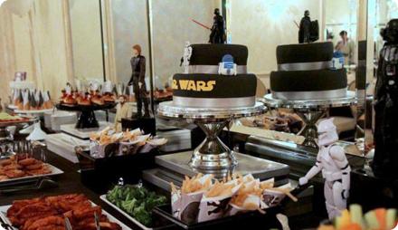 Меню на вечеринку в стиле звездных войн
