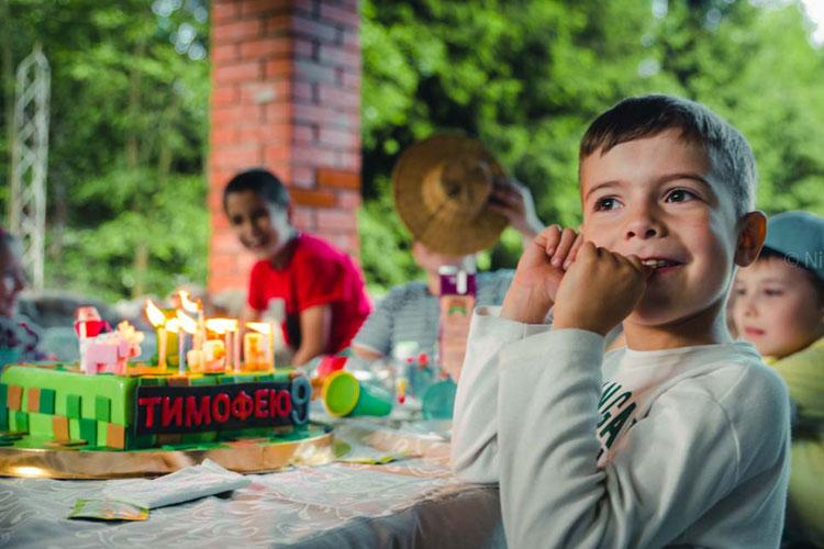 форт боярд на детский день рождения