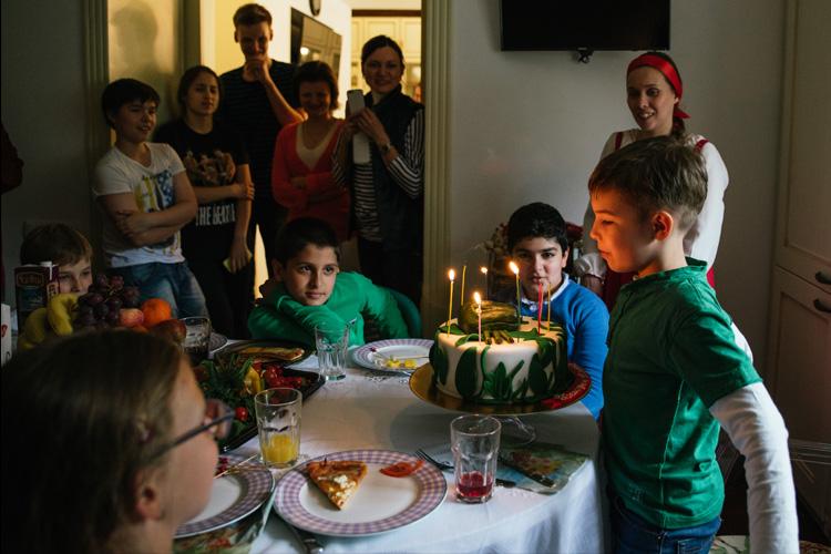 День рождения 10 лет