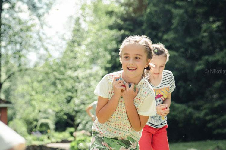 Форт Боярд на день рождения 9 лет