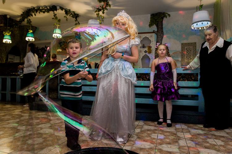 Шоу мыльных пузырей на 5 лет